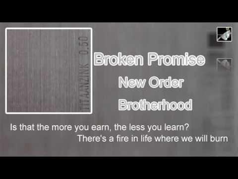 Broken Promise with lyrics