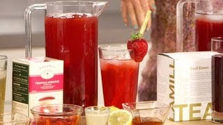 Healthy Iced Tea Recipes | Summer Drink Ideas | Fitness How To