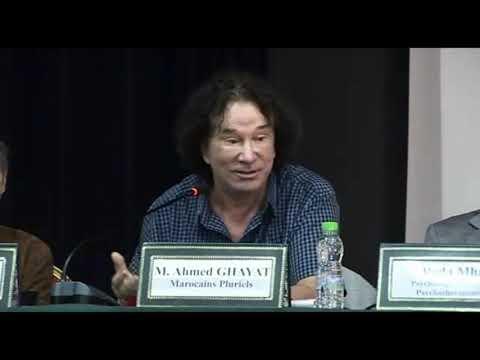Vidéo- Ahmed GHAYAT association Marocains Pluriels/ Notre histoire et diversité:secrets de notre unité notre unité