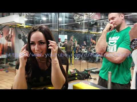 SNEHZANA BABAIEV I DEVON LARRATT Arm Wrestling Training INDIA I Hook, Top Roll, Strap I PART- 3