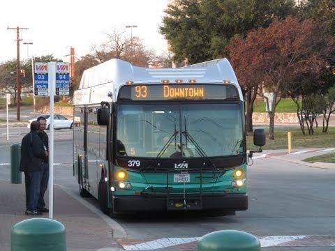 VIA Metropolitan Transit #379 (The Ride) - YouTube