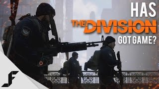 Has THE DIVISION got Game?