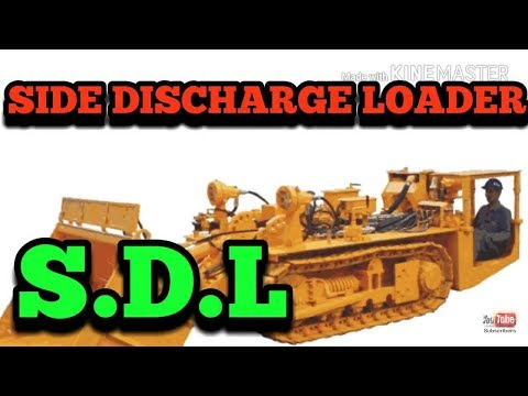 Side Discharge loader(S.D.L)Machine. INDIAN