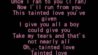 Tainted Love - SoftCell [+Lyrics]