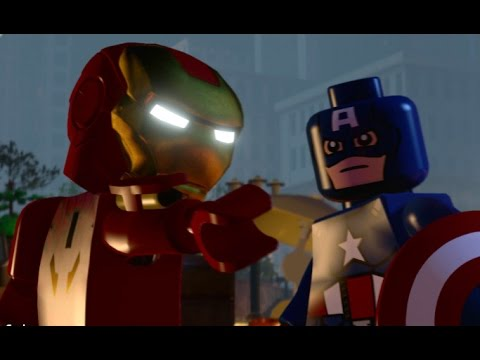 LEGO Marvel's Avengers Walkthrough Part 4 - Shakespeare in the Park