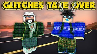 GLITCHES ARE TAKING OVER JAILBREAK! (ROBLOX Jailbreak)