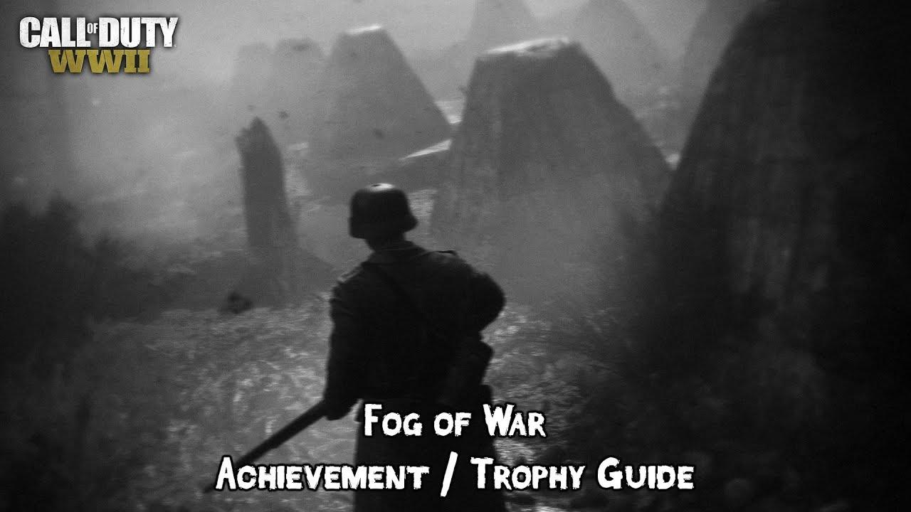 Call of duty: ww2 how to unlock fog of war   trophy guide gameranx.