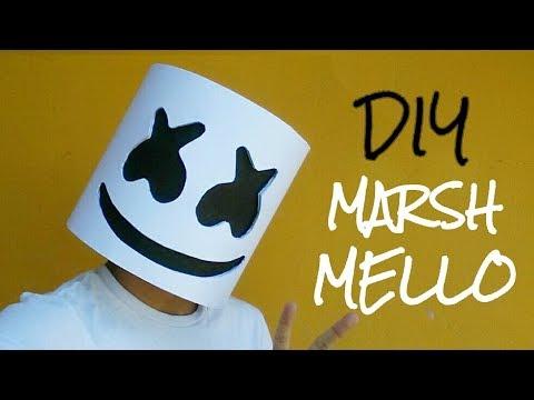 Cómo Hacer Una Máscara Casco De Marshmello Con Papel Opalina Momuscraft
