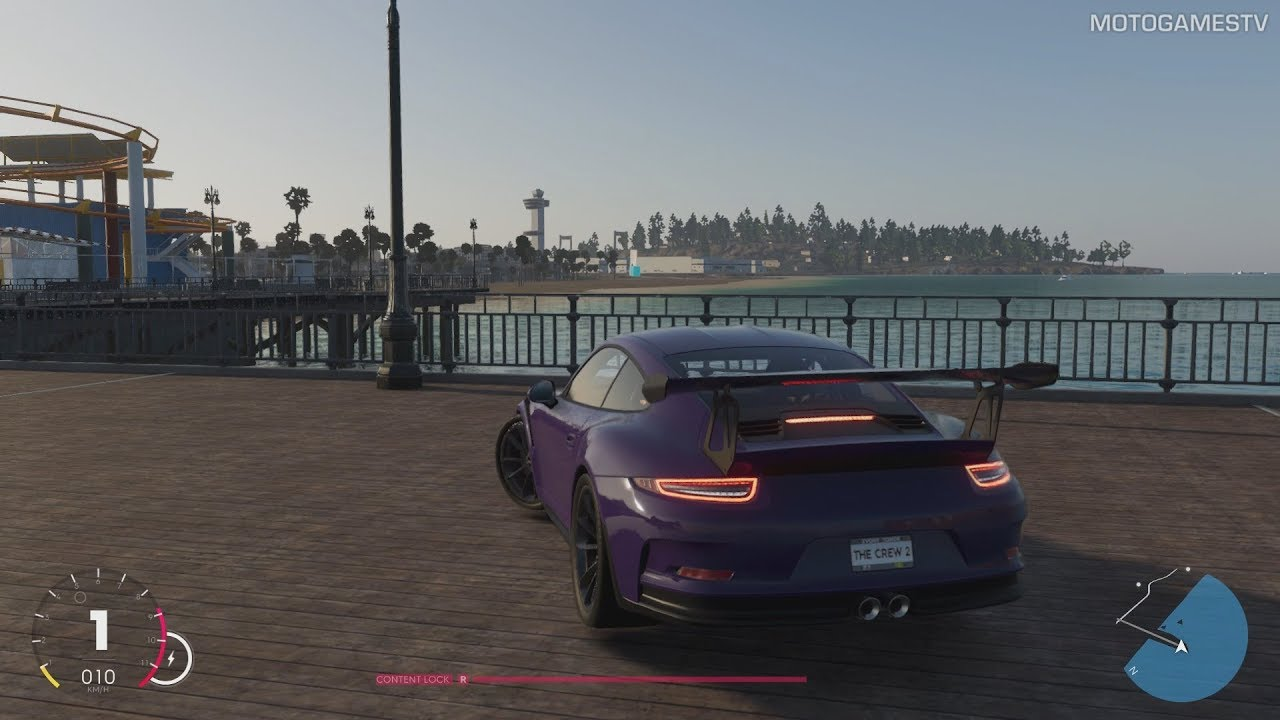 the crew 2 beta - new york to los angeles in porsche 911 gt3 rs