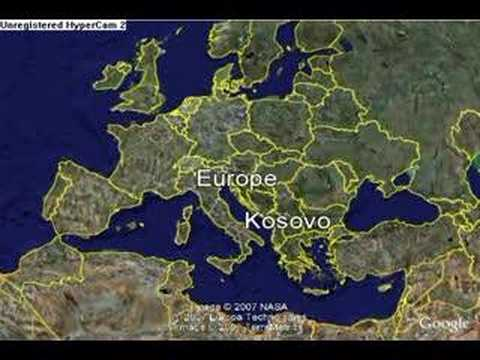 Where is Kosovo An animated map YouTube