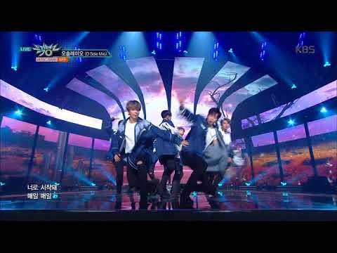 뮤직뱅크 Music Bank - 오솔레미오(O Sole Mio) - SF9 (O Sole Mio - SF9).20171013