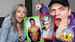 GUESS HIS AGE CHALLENGE *IMPOSSIBLE* Ft. Corinna Kopf