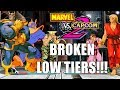 5 low tier but super busted teams in marvel vs capcom 2