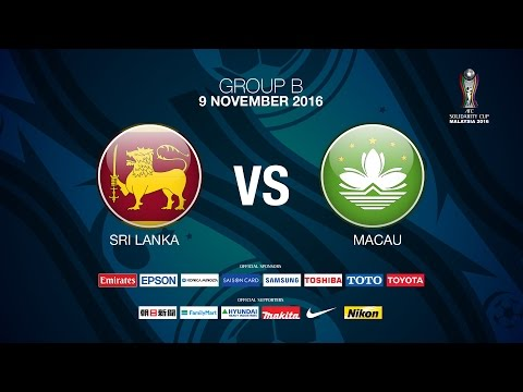#AFC SOLIDARITY CUP Group B Day 3  Sri lanka v Macau - News Report