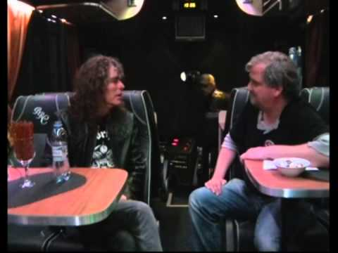 Overkill Interview in Helsinki, Finland at Tavastia Club April 18th, 2013