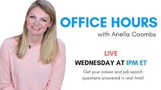 Office Hours with Ariella Coombs thumbnail