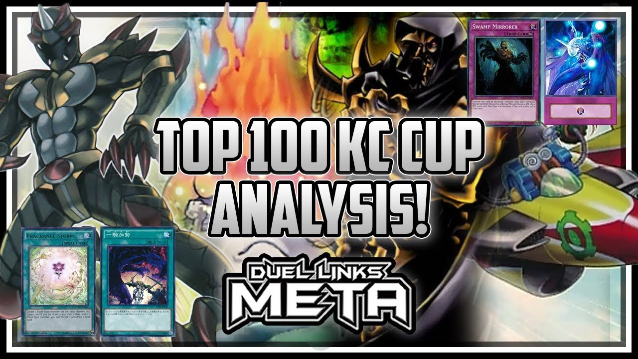 Top 100 KC Cup Deck Lists Analysis [Yu-Gi-Oh! Duel Links]