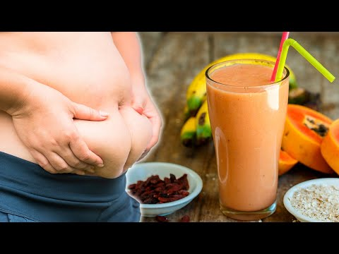 Reduce Belly Fat with This 3-Ingredient Smoothie