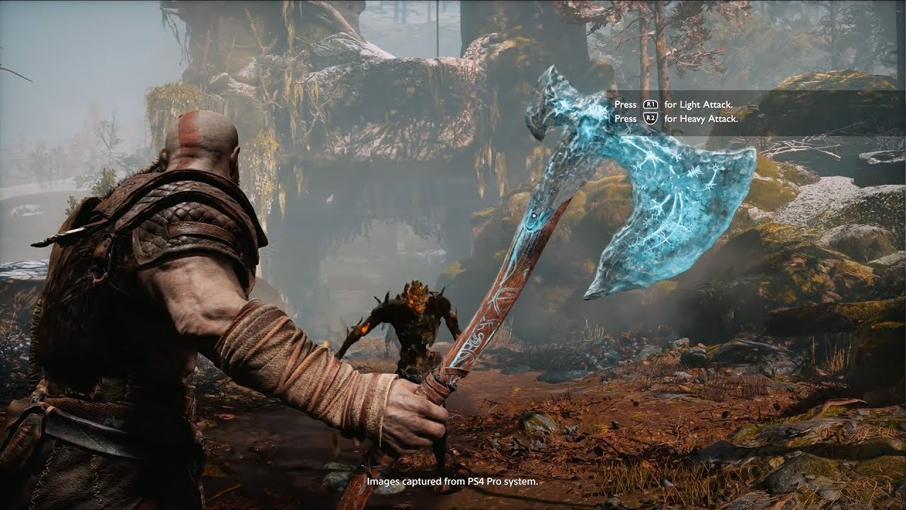 God of War - The Leviathan Axe Gameplay Trailer [PS4] - YouTube