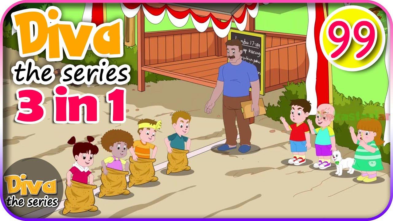 Download Seri Diva 3 in 1 | Kompilasi 3 Episode ~ Bagian 99 | Diva The Series Official