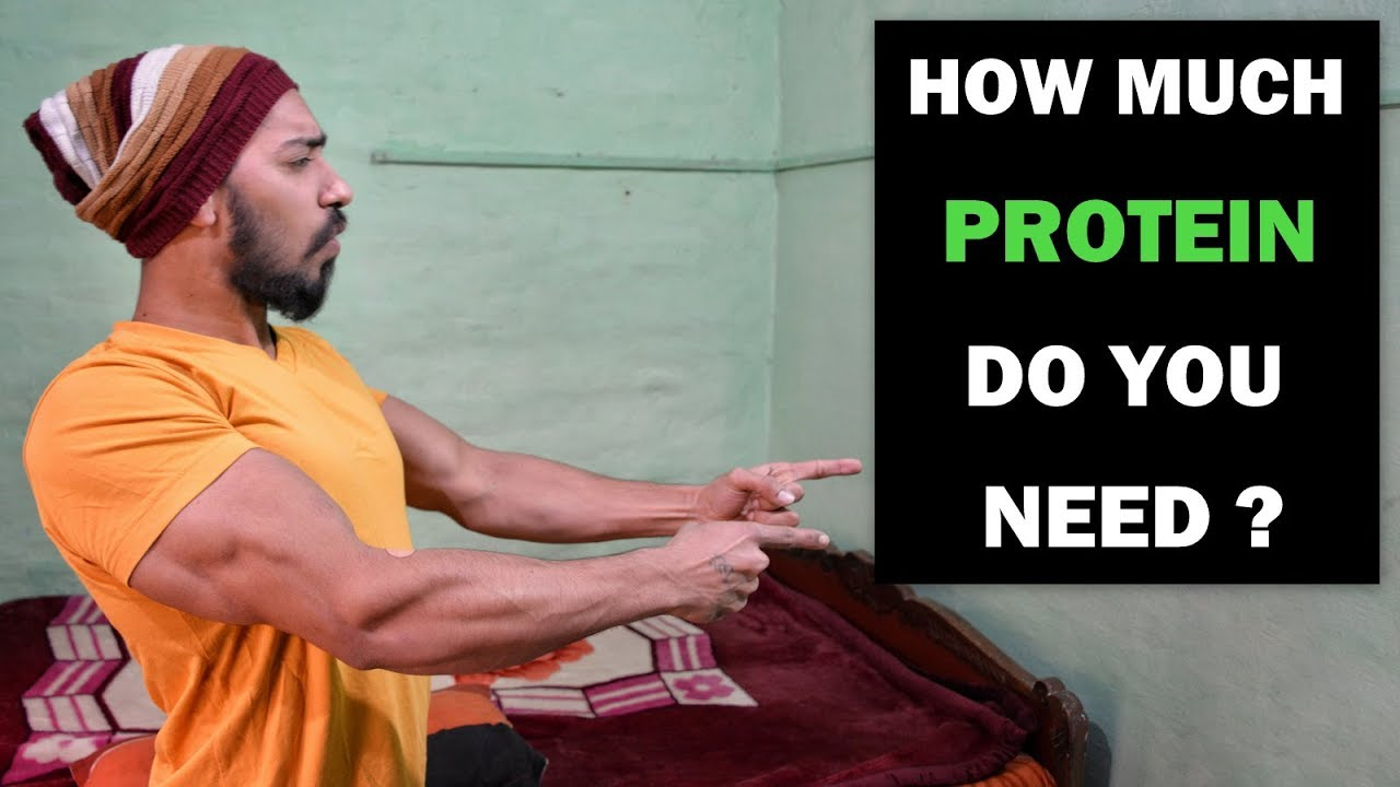 how to find out how much protein you need