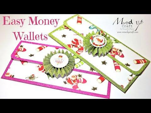 Easy Money Wallets/Envelopes | Video Tutorial