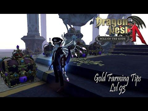 Dragon Nest A SEA - Gold Farming Tips lvl 93