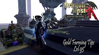 Dragon Nest A SEA - Gold Farming Tips lvl 93