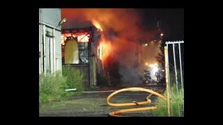 Zeer grote brand aan de industrielaan in Veenendaal 14 oktober 2020