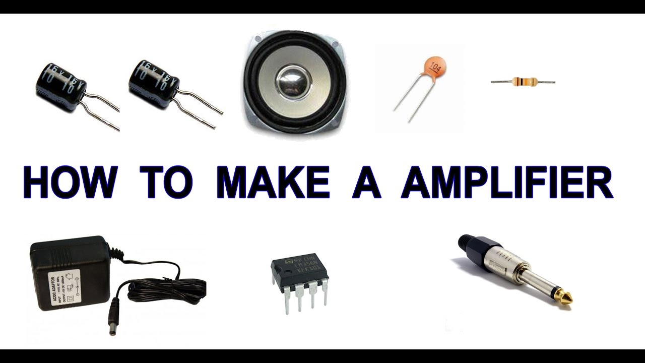 How To Make A Amplifier Youtube 1w Stereo Headphone Based Tda2822