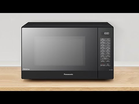 The new Panasonic NN-ST46KB Solo Microwave Oven