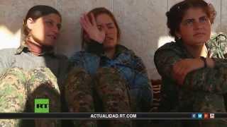 Mulheres curdas em guerra contra o Estado Islâmico (ISIS) Documentário de RT