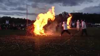 Olympic Rope Burning - Camp Towanda 2015