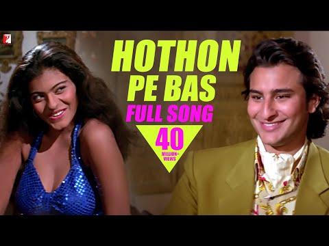 Hothon Pe Bas    Song   Yeh Dillagi   Saif Ali Khan   Kajol   Lata Mangeshkar  