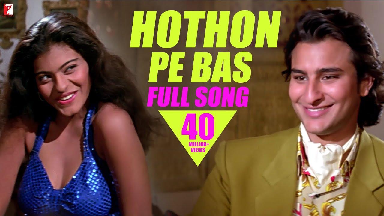 Download Hothon Pe Bas | Full Song HD | Yeh Dillagi | Saif Ali Khan | Kajol | Lata Mangeshkar | Kumar Sanu