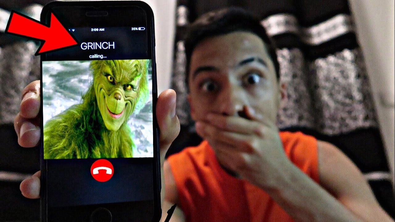 find the grinch phone number # 0
