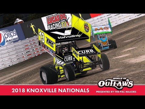 """iRacing: 2018 Knoxville Nationals"" (410 Winged Sprint Car at Knoxville Raceway)"