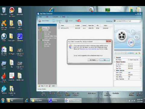 converting video files with any video converter