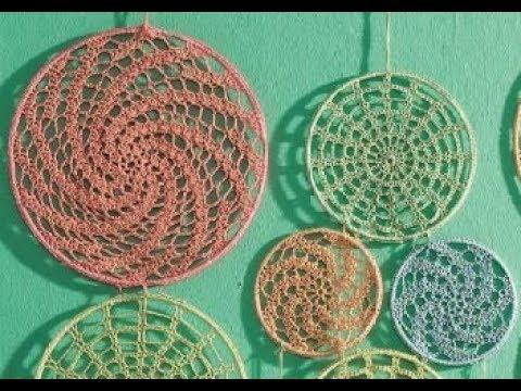 Mandala In Einen Drahtring Einfach Häkeln Bobbel Cotton Woolly