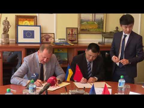 Rada Sumy: Олександр Лисенко: Ми зацікавлені у розвитку взаємовигідних зв'язків із КНР