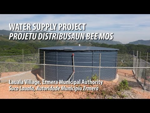 SSRI Lauala Water Supply Project Timor-Leste