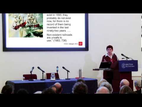 What if? Models, Facts and Fiction in Economics - Keynes Lecture by Prof Mary S Morgan