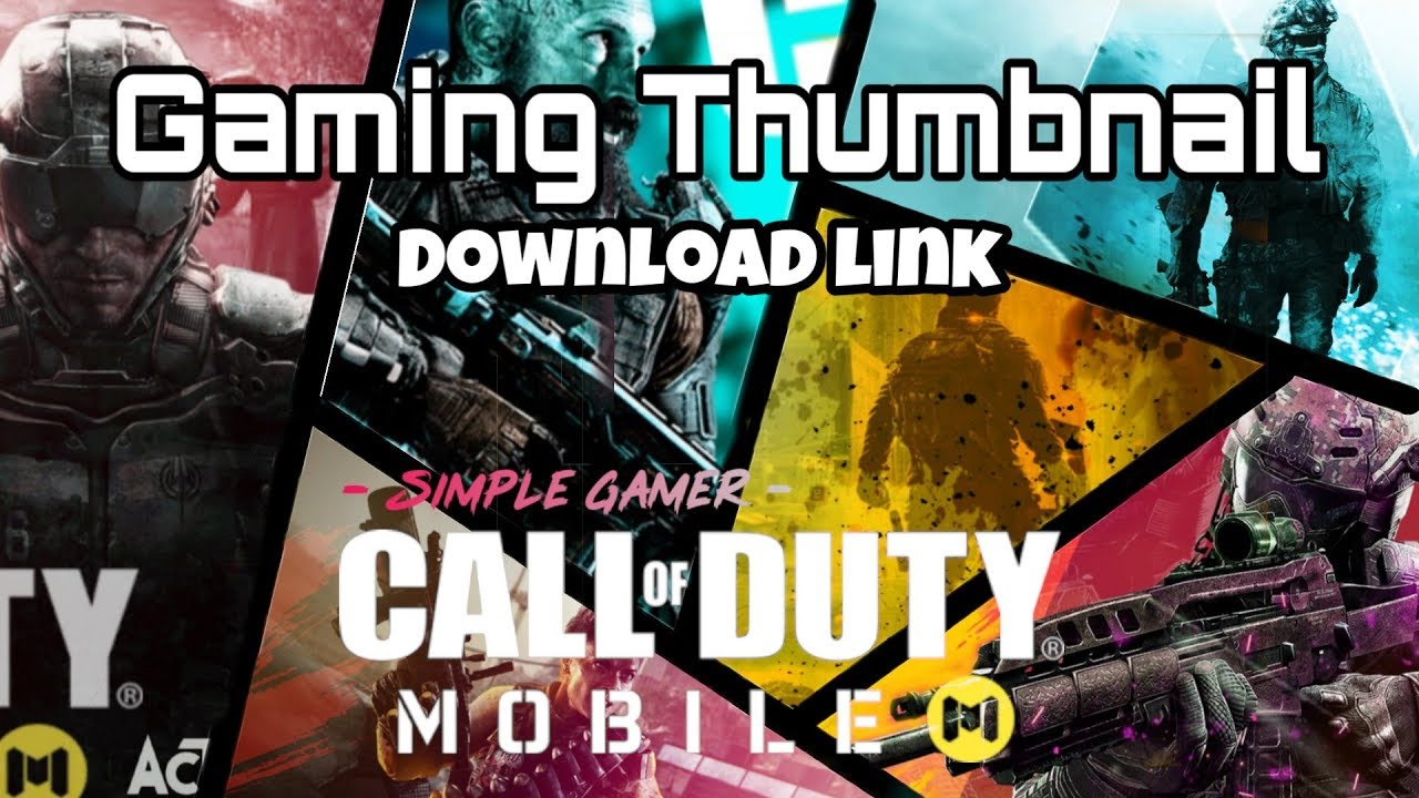 Free Thumbnail Download Link Of Cod Mobile Edit And Re Use