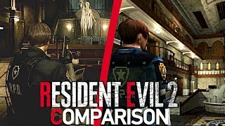Resident Evil 2 Remake/Original Comparison