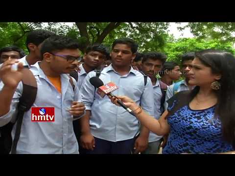 Students Facing Lack Of Facilities Problem in Jawaharlal Nehru Government Polytechnic College | HMTV