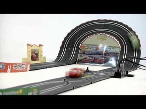 carrera go disney cars youtube. Black Bedroom Furniture Sets. Home Design Ideas