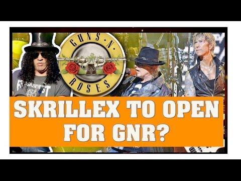 Guns N' Roses Reunion 2016 News: Skrillex, Chris Stappelton & Others To Open for GNR