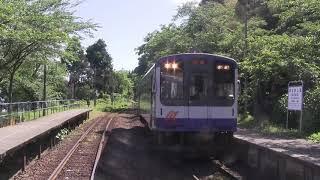 【前面展望】のと鉄道上り普通 のと里山里海4号 七尾行き