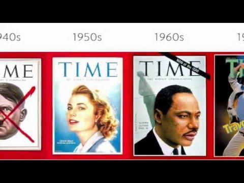 EVOLUTION OF MAGAZINE COVERS
