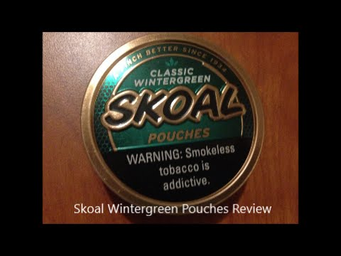 Skoal Wintergreen Pouches Review